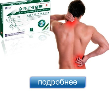 пластырь zb pain relief в спб